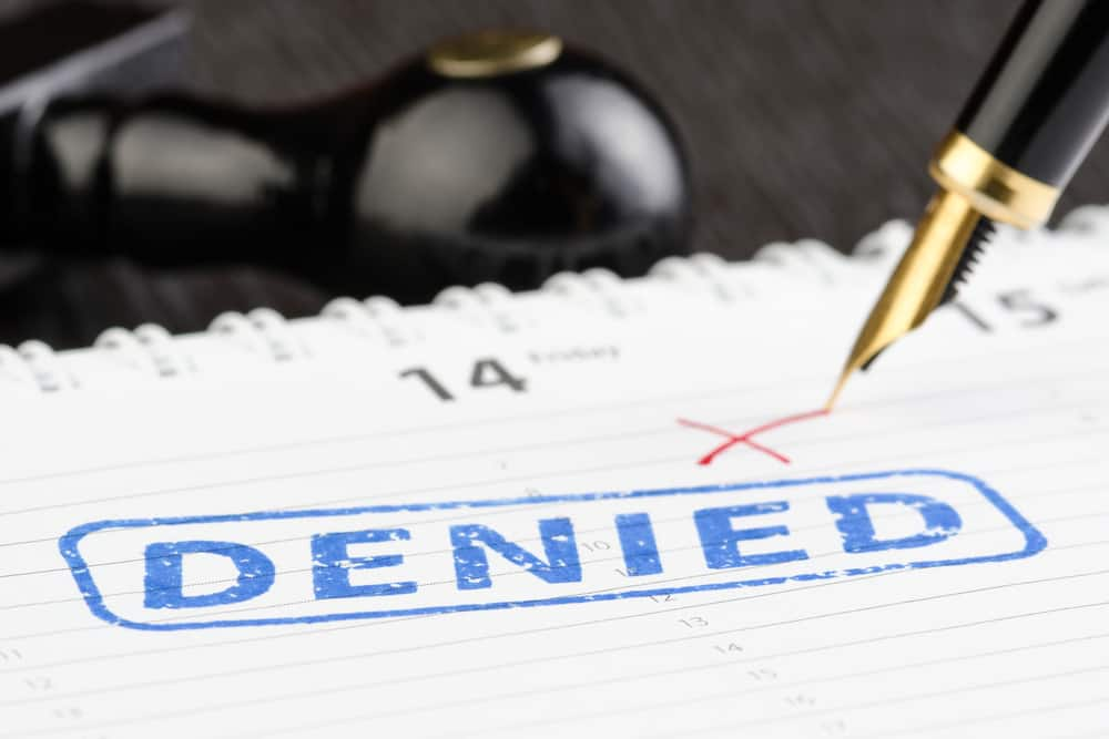 workers' compensation claim denial